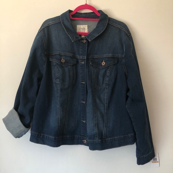 Jessica Simpson Jackets & Blazers - Jessica Simpson Medium Wash Denim Jacket